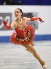 Alina Zagitova won the gold medal the World Junior Figure Skating Championships in Taiwan