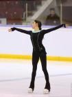 Медведева на  тренировках Чемпионата России в Челябинске 2017