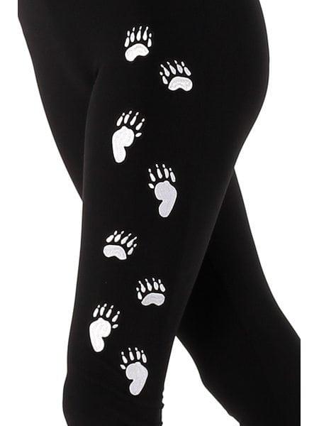 Медвежьи лапки на ноге