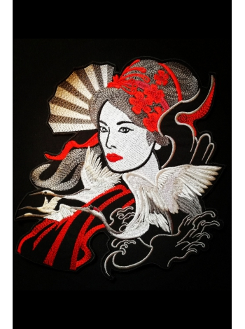 Geisha on the back II
