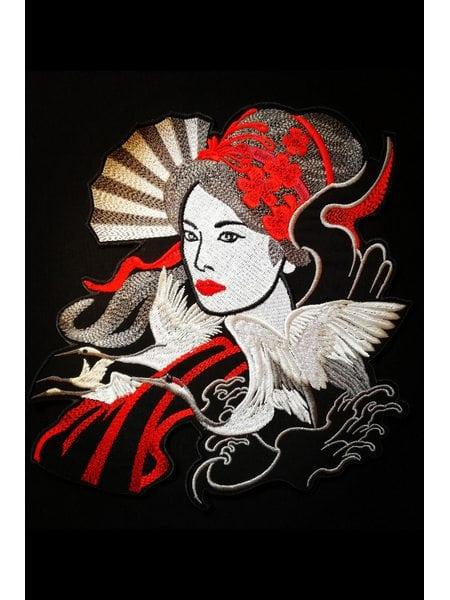 Geisha on the back II