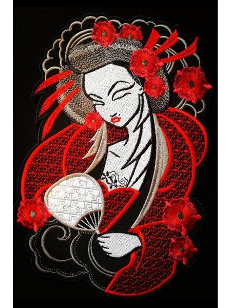 Geisha on the back