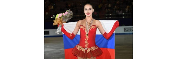 Alina Zagitova won the gold medal